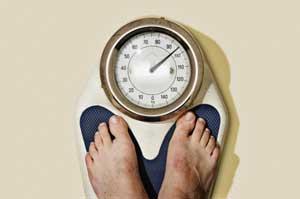 bilancia pesa persone per controllo del peso