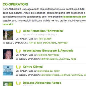 cooperatori del sito