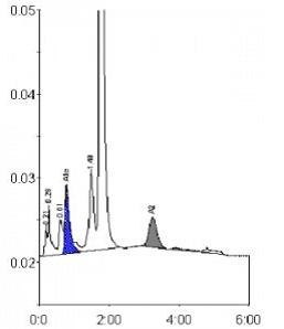 cromatogramma emoglobine