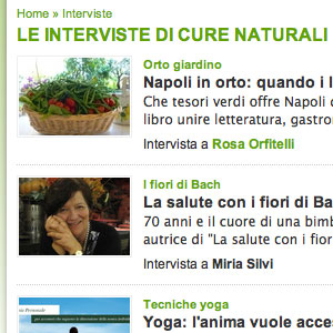 interviste su cure-naturali.it